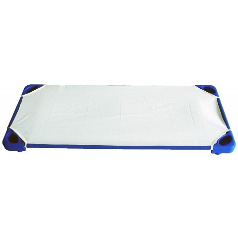 BabyCenterIndia Toddler Cots, Blue Color (with Cot Sheets)