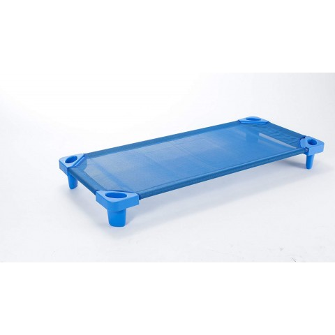 BabyCenterIndia Toddler Cots, Blue Color (Without Cot Sheets)