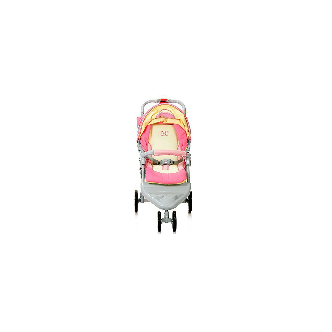 Haenim Premium Large Wheel Base Premium Stroller, Made in South Korea (Red)