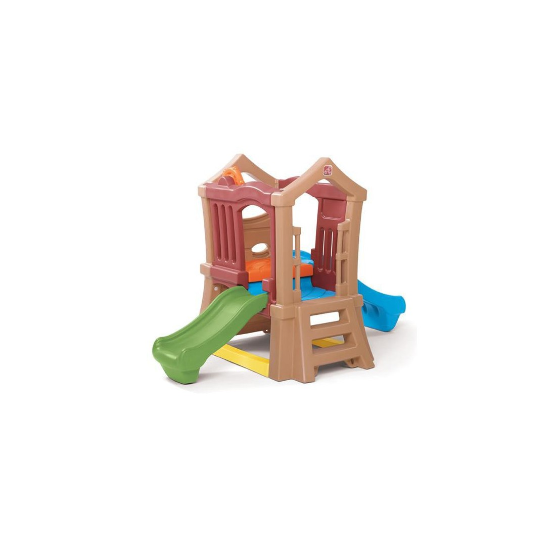 PLAY UP DOUBLE SLIDE CLIMBER