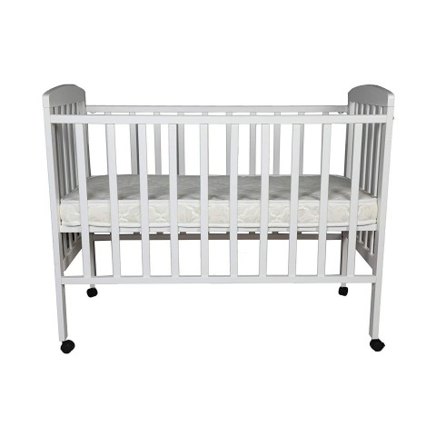 BabyCenterIndia Howard 892 COT (Made in Malaysia) (White with Mattress)