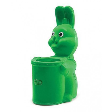 Playgro Toys Rabbit Bin Green