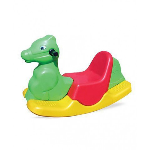 Playgro Toys Jumbo Tusker Rocker With Handle