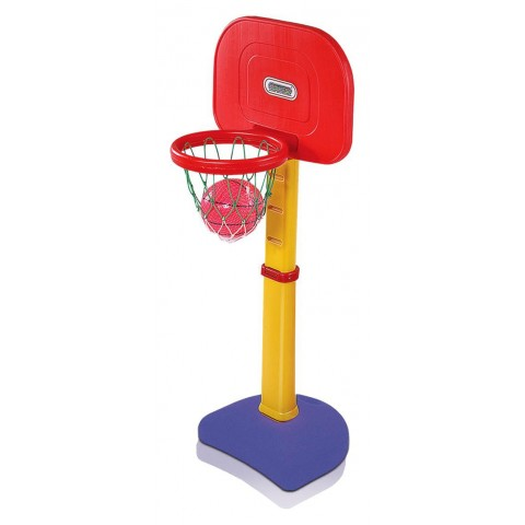 Playgro Adjustable Basket Ball, Red/Yellow