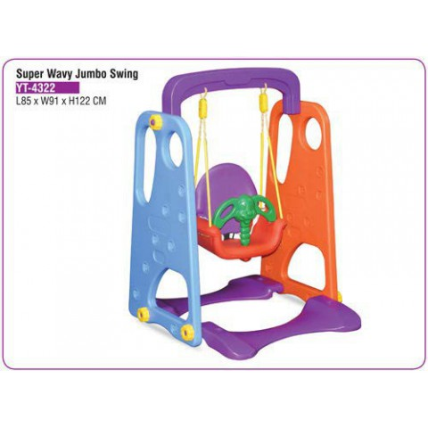 Playgro Toys Super Wavy Jumbo Swing