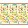 Parklon Double Side Living and Baby Play Mat (Cream-Multi)