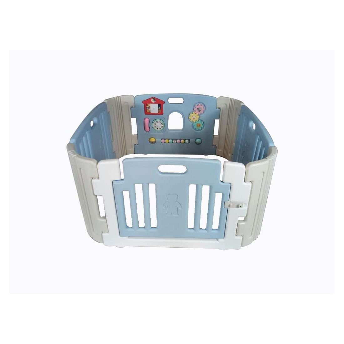 baby-room-blue color-kids safety-babyroom