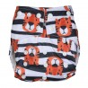 Strips Tiger Design Reusable Cotton Diaper