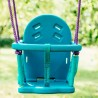 Plum 2 in 1 Metal Swing Set