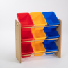 Babycenterindia 9 Bins MDF Shelf Storage