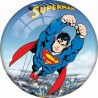 Superman Licensed Inflatable Ball 9 inches