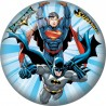 Batman/Superman Licensed Inflatable Ball 9 inches