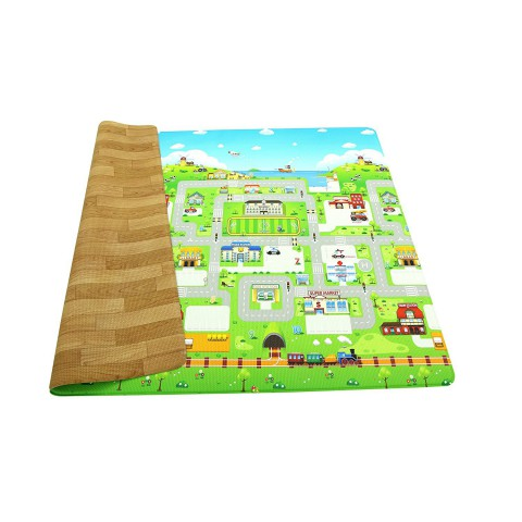 BeBe Dom Playmat, Run to Town, Small size