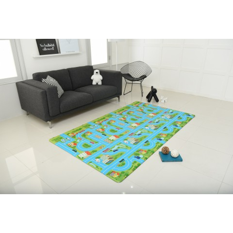 Design City Road Play Mat , Both Front and Back Design