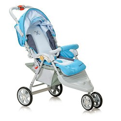Haenim Premium Large Wheel Base Premium Stroller, Made in South Korea (Blue)