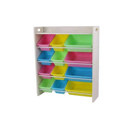 BabyCenterIndia Rack with Top Board Pastel