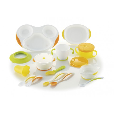 Baby Feeding Set by Richell Japan